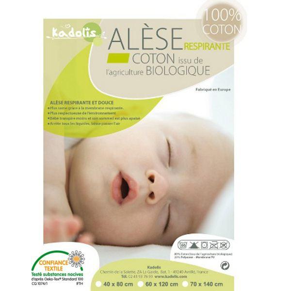 alèse lit bébé 60x120
