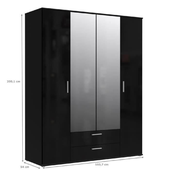 armoire noire