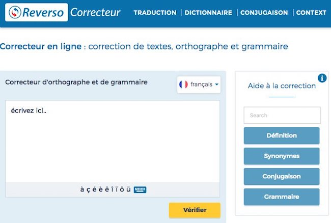 correcteur orthographe et grammaire