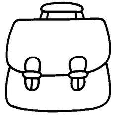 dessin cartable maternelle