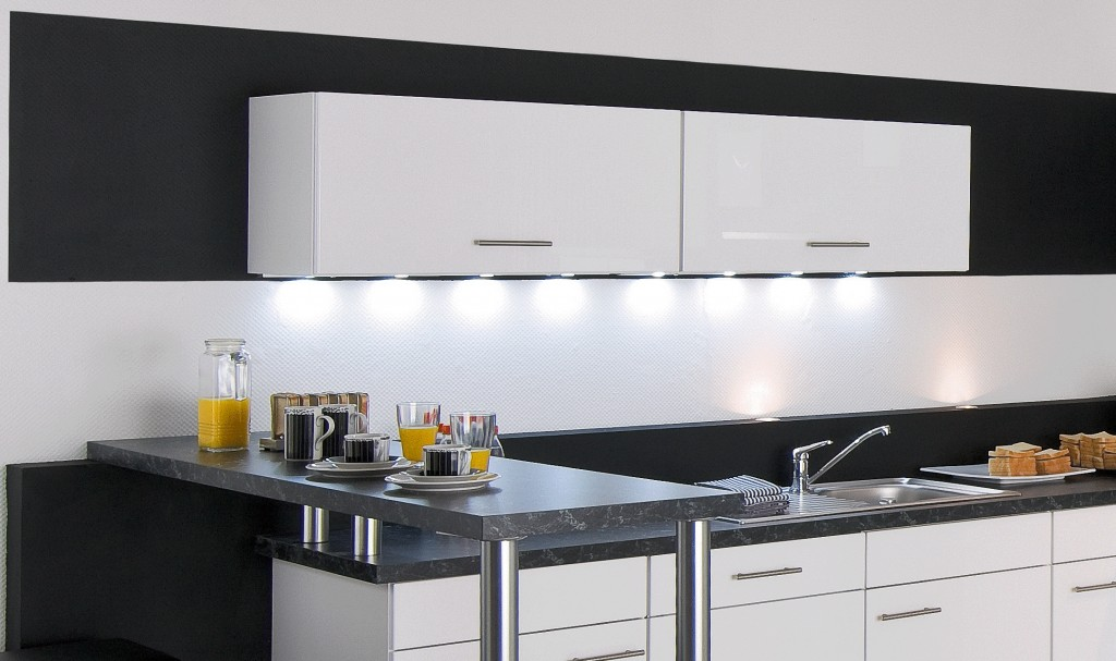 eclairage led cuisine
