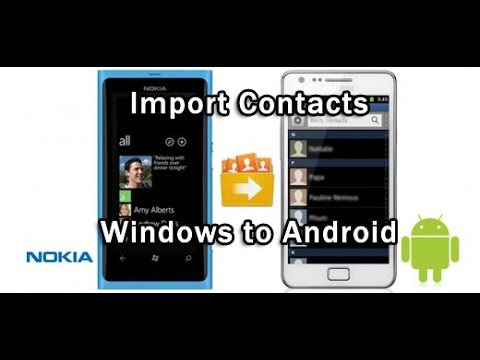 exporter contact windows phone