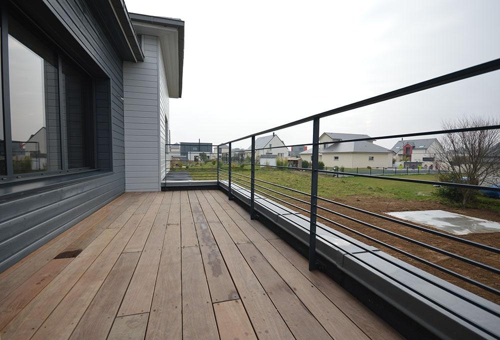 garde corps pour terrasse exterieur