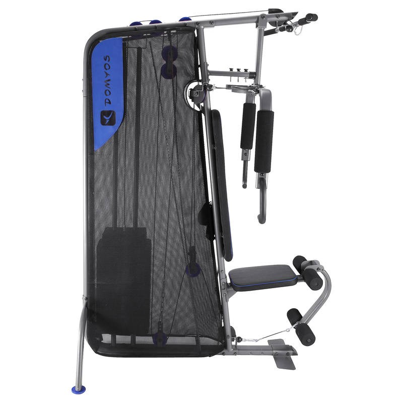 home gym compact domyos