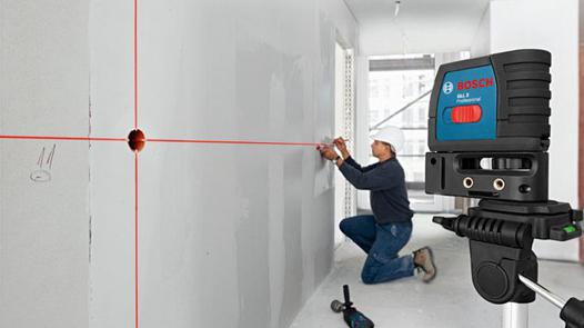 laser travaux