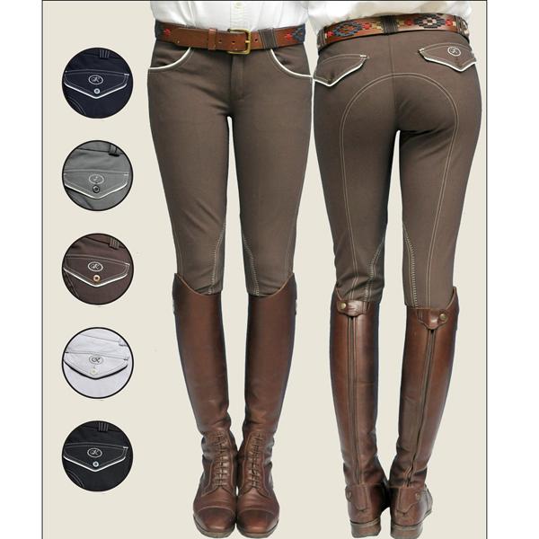 pantalon cheval femme
