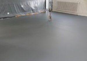 resine sol garage