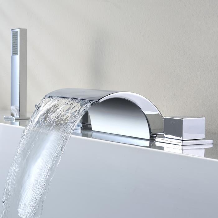robinet baignoire cascade