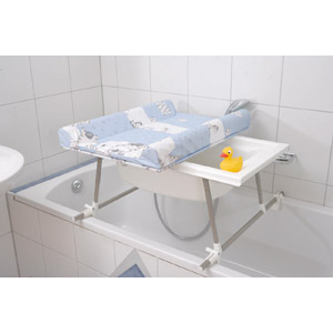 table a langer pliable pour petite salle de bain