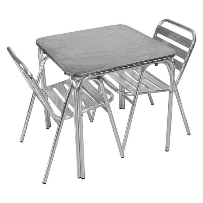 table jardin 2 personnes