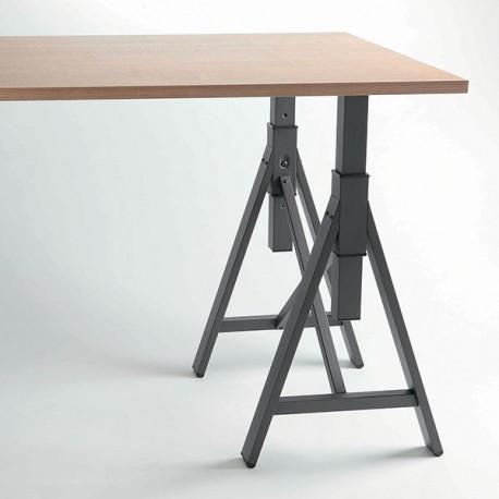 table tréteau
