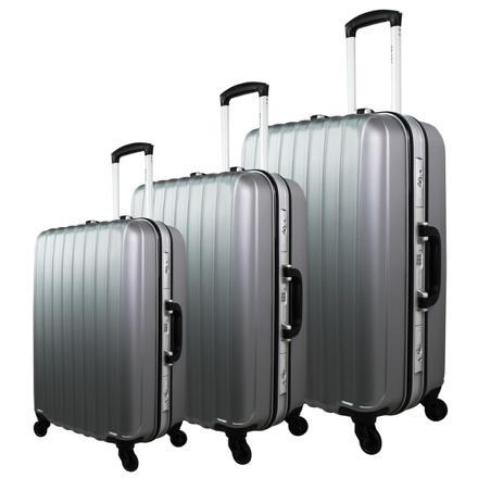 valise rigide sans fermeture éclair
