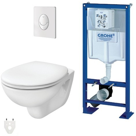 wc suspendu grohe