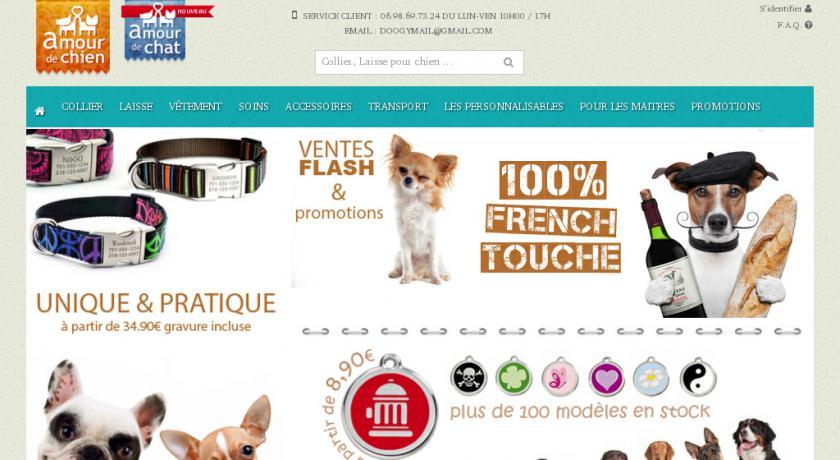 boutique animaux en ligne