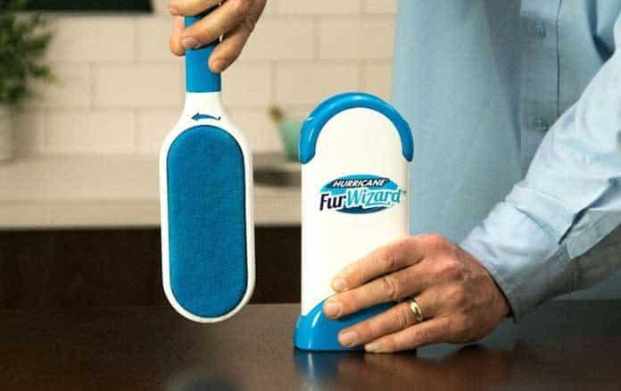 brosse magique anti poil