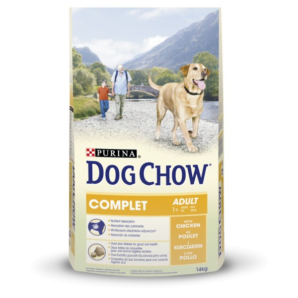 croquette dog chow