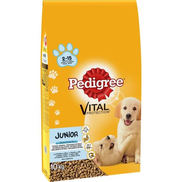 croquette pedigree junior