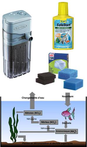 filtre pompe aquarium