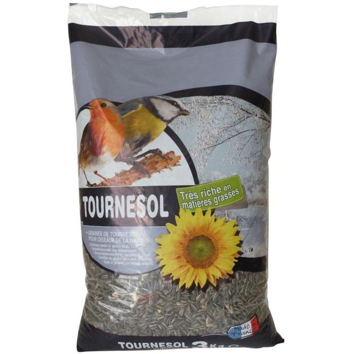 graines de tournesol pour oiseaux