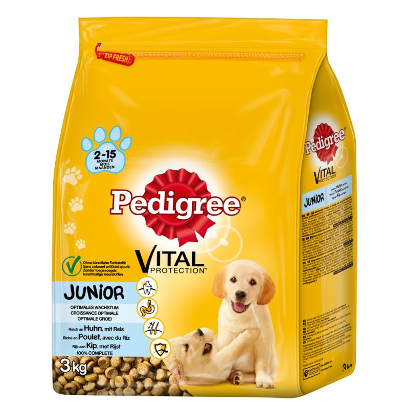 pedigree junior