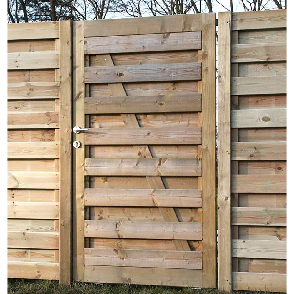 portillon en bois