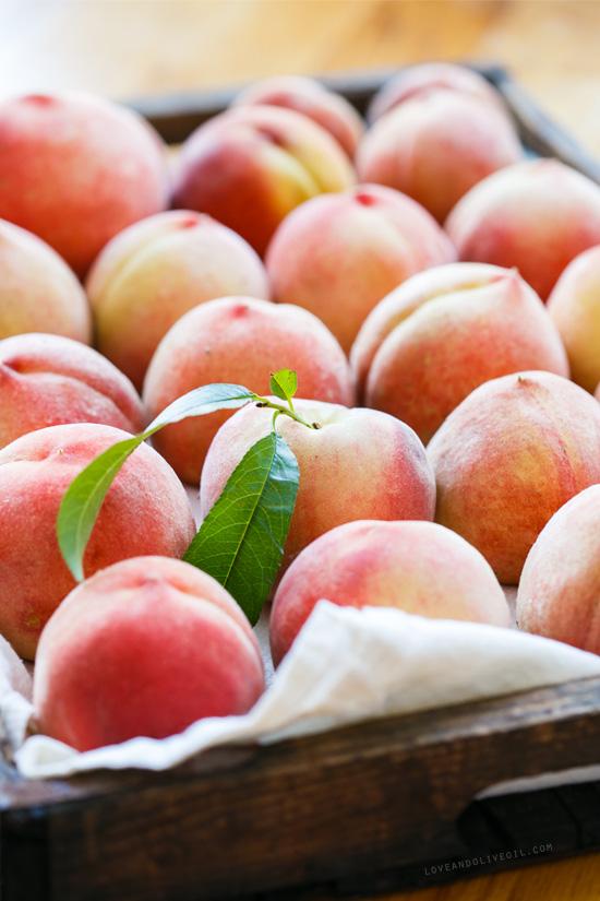 white peach