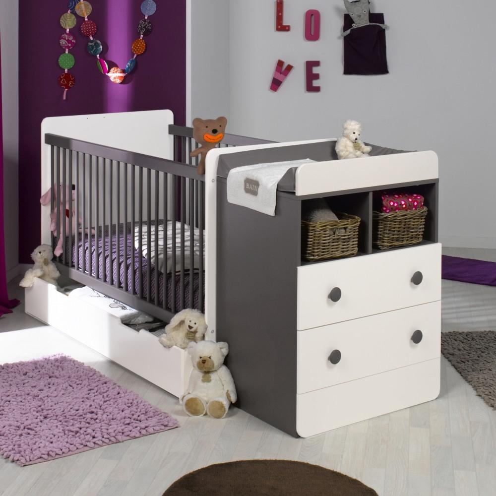 chambre bébé lit évolutif