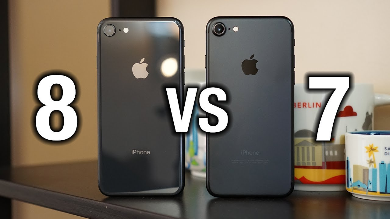 difference entre iphone 7 et 8