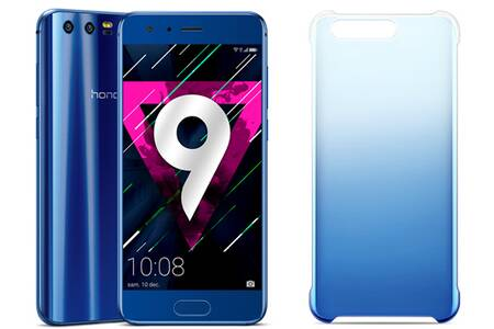 honor 9 bleu