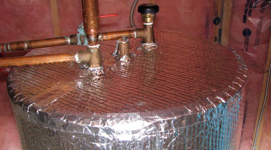 isolation chauffe eau
