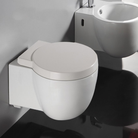 wc suspendu compact